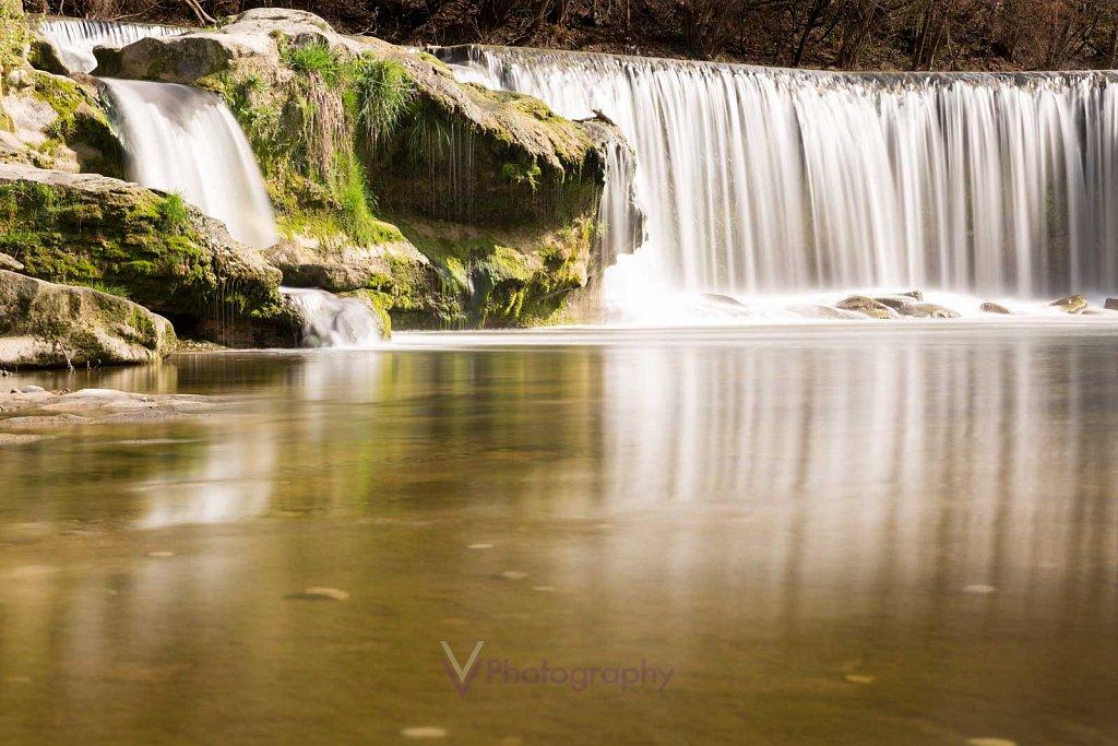 Wasserfall Affenschlucht bei Winterthur